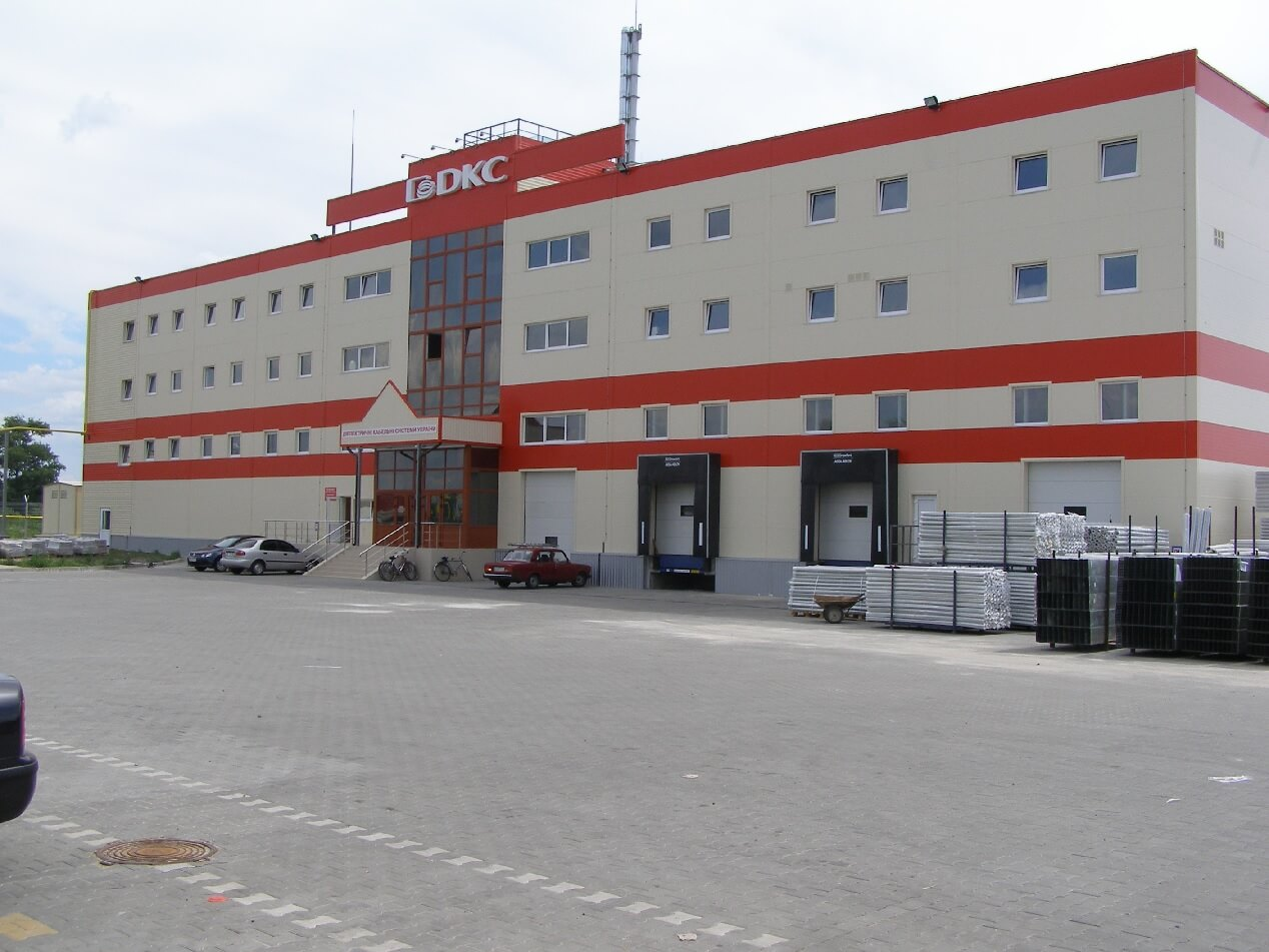 STORAGE PREMISES AND MANUFACTURING COMPLEX ON PRODUCTION OF SYSTEMS FOR CABLING OF ELECTRICAL AND INFORMATION NETWORKS WITH PVC AND POLYETHYLENE CJSC DKS UKRAINE IN IVANKIV VILLAGE