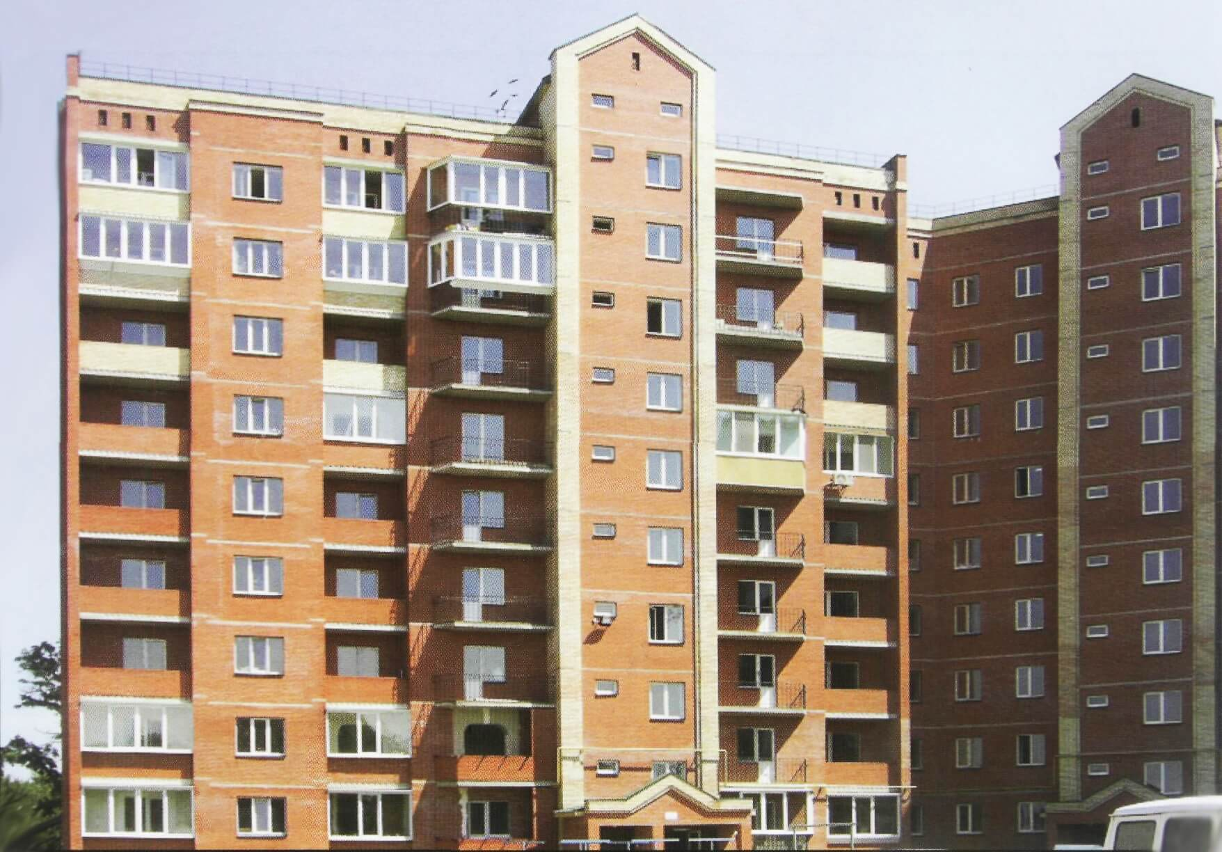 125- APARTMENT RESIDENTIAL BUILDING ON MICHURINA STREET, BORYSPIL TOWN